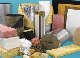 материалы теплоизоляционные, смеси и растворы строительные